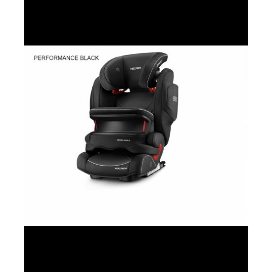 Recaro Monza Nova IS - PERFORMANCE BLACK
